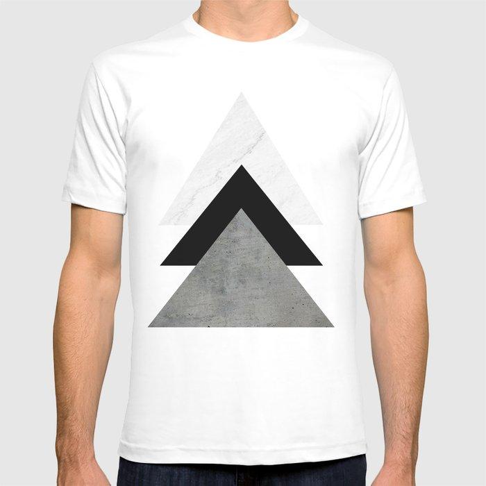 Arrows Monochrome Collage T-Shirt