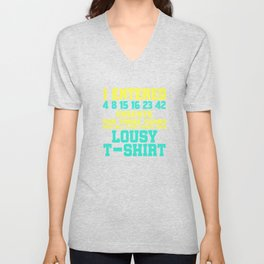 Dream Plan Execute T-shirt Design Lousy shirt Unisex V-Neck