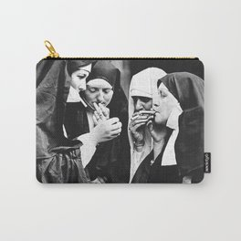 Smoking Nuns Carry-All Pouch