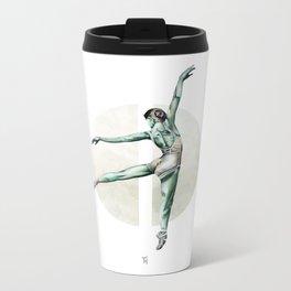 Aquarelle Ballerina 04 Metal Travel Mug