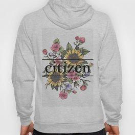 Citizen Floral Art Hoody