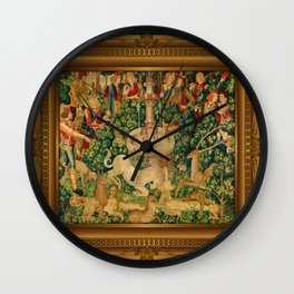 The Unicorn is Found Wall Clock