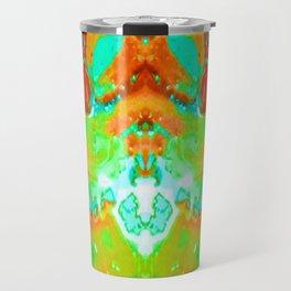 Orange to Blue Medley Travel Mug