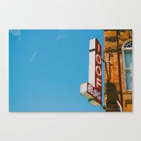 the 100 Canvas Prints featuring 100 by SundaySky