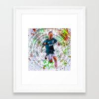 ronaldo Framed Art Prints featuring VIVA RONALDO by Cr7izbest