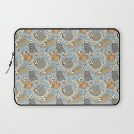 Sloths and Vanilla Laptop Sleeve