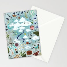 Let's Take the Train Stationery Cards