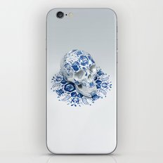 Gzhel Skull iPhone & iPod Skin