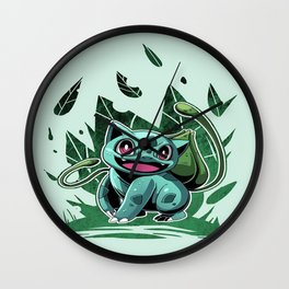 Leafgreen Wall Clock