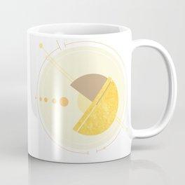 Geometric Planets in Orbit Coffee Mug