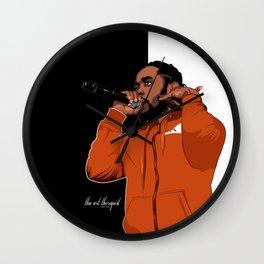 """Kendrick Lamar """" Cornrow Kenny"""" Wall Clock"""