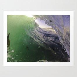 Seaweed Crumble Art Print