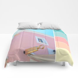 Bright And Happy On The Side Pastels Comforters