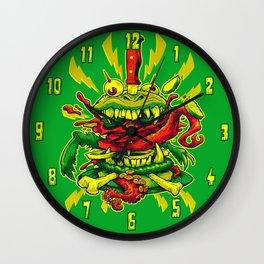 BEASTBURGER Wall Clock