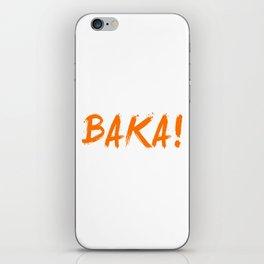 Baka Inspired Shirt iPhone Skin