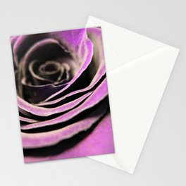 Pink Lilac Rose Stationery Cards