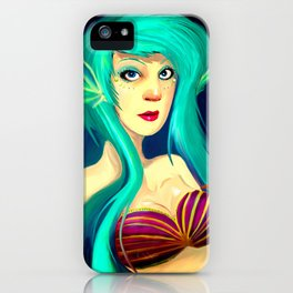 Mermaid iPhone Case