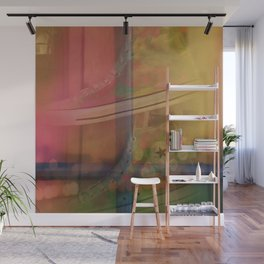 Sherbet and Shoes Wall Mural