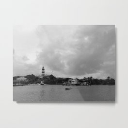 Hopetown Lighthouse Metal Print