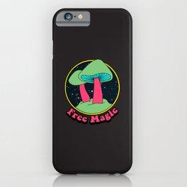 Free magic Shrooms iPhone Case