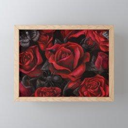 Bugs and Roses Framed Mini Art Print