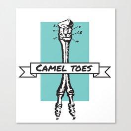 Camel Toess Canvas Print