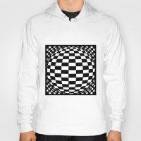 grid Hoodies featuring Grid by Ghost