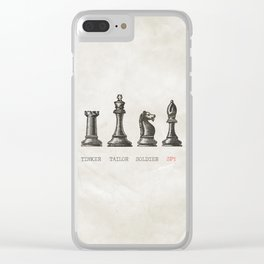 Tinker Tailor Soldier Spy Clear iPhone Case