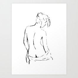 Nude 4 Kunstdrucke