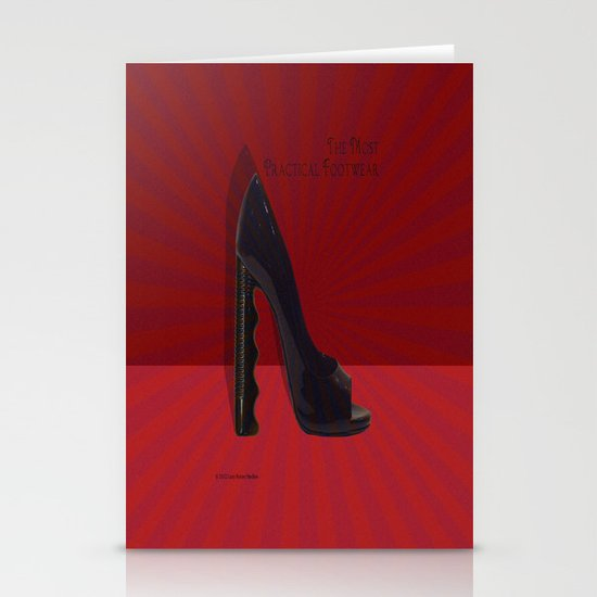 The Most Practical Footwear Stationery Cards