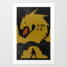 The Goblet of Fire (The Boy Who Lived 4 of 8) Art Print