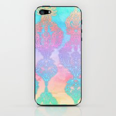 The Ups and Downs of Rainbow Doodles iPhone & iPod Skin
