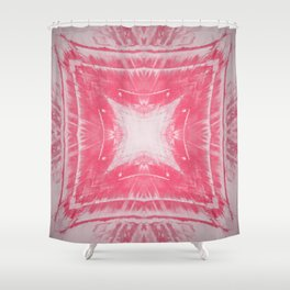 VINTAGE DISTRESSED T Shower Curtain