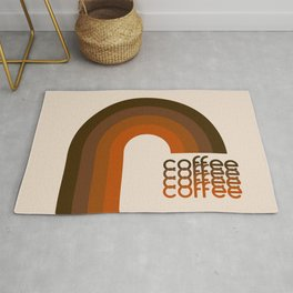Cocoa Coffee Rainbow Rug
