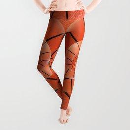 Droste Basketball Spiral  Leggings