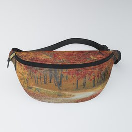 Red Autumn Fanny Pack