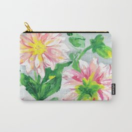 Dahlias for a cloudy day i Carry-All Pouch