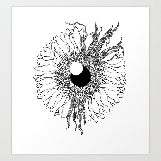 I See Beauty Until the End Art Print