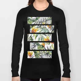 TROPICAL GARDEN Long Sleeve T-shirt