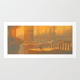 Hollow Metropolis Art Print