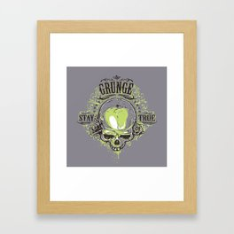 Stay True #2 Framed Art Print