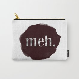 Meh floral watercolor Carry-All Pouch