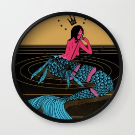 Mermaid Sashimi Wall Clock