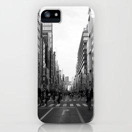 Ginza Street Tokyo iPhone Case