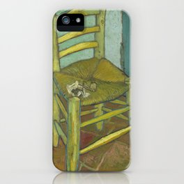 Van Gogh's Chair iPhone Case