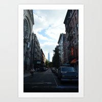 The Road to Freedom Art Print
