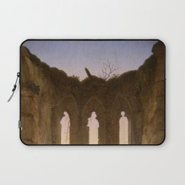 Caspar David Friedrich - Ruins of the Oybin - Ruine Oybin Laptop Sleeve