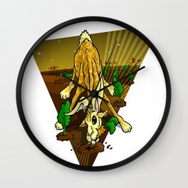 Mutant Zoo - Girabbit Wall Clock