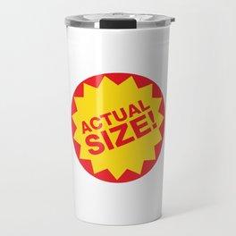 Actual Size Travel Mug