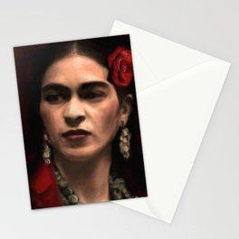 Frida Kahlo Portrait Stationery Cards